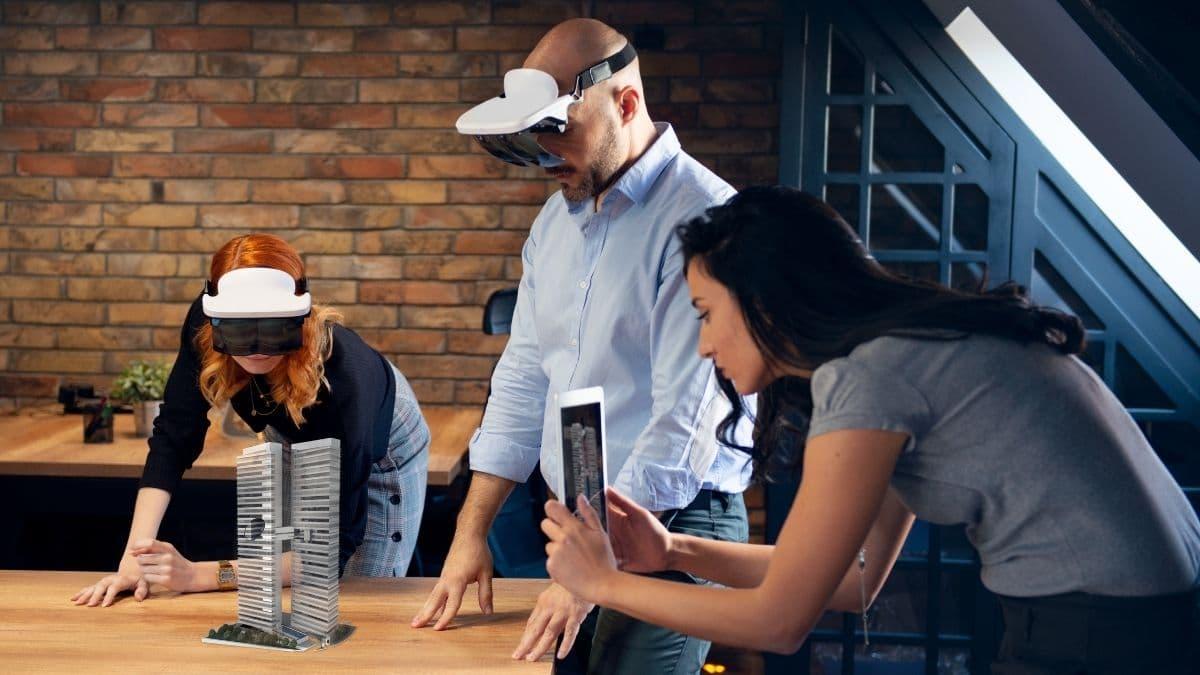 Réalité virtuelle et augmentée - utilisation de l'AR en architecture