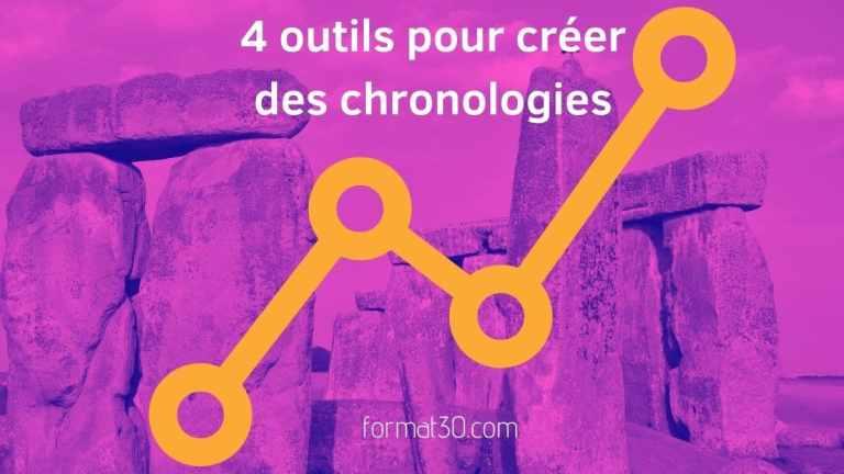 Faire une frise chronologique - 4 outils gratuits ou freemium