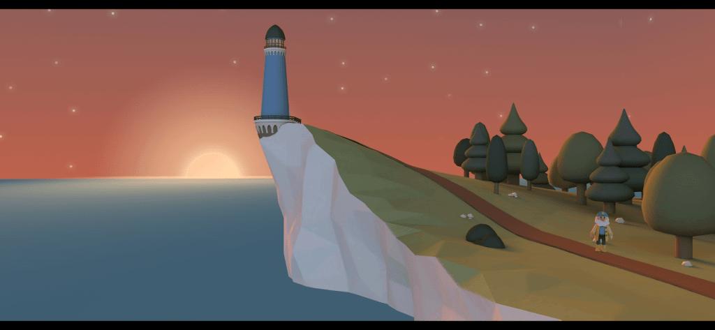 Italy - Land of Wonders - Le phare et son gardien, début de la quête autour des 20 régions d'Italie