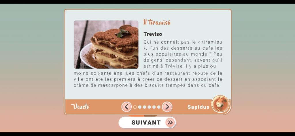 Italy - Land of Wonders - Le tiramisu, gourmandise typique de Trévise