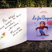 La fée baguette fait du ski par Fanny Joly et Marianne Barcilon. Chronique de livres pour les petits par Bonheur en Papillote