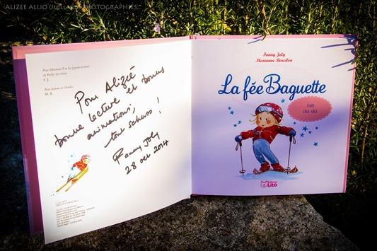 La fée Baguette fait du ski Fanny Joly et Marianne Barcilon Edition LITO-1 copie