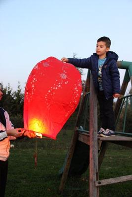 lanterne pere noel