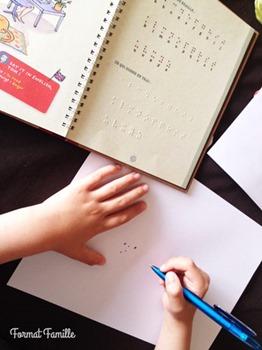 ecrire en braille livre