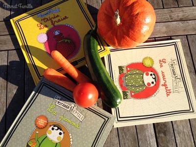 livre légumes marché