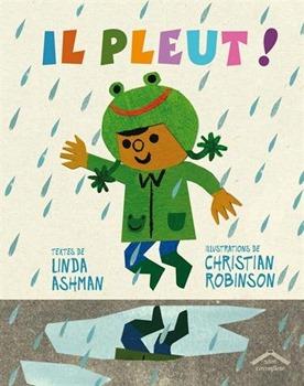 il pleut livre enfant morale