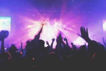 concert electro festival foule mix