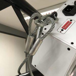 Câbles de sécurite élingue en acier