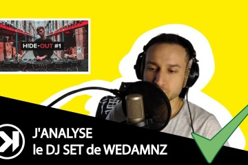 Analyse dj set Wedamnz