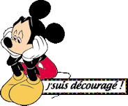 Découragé