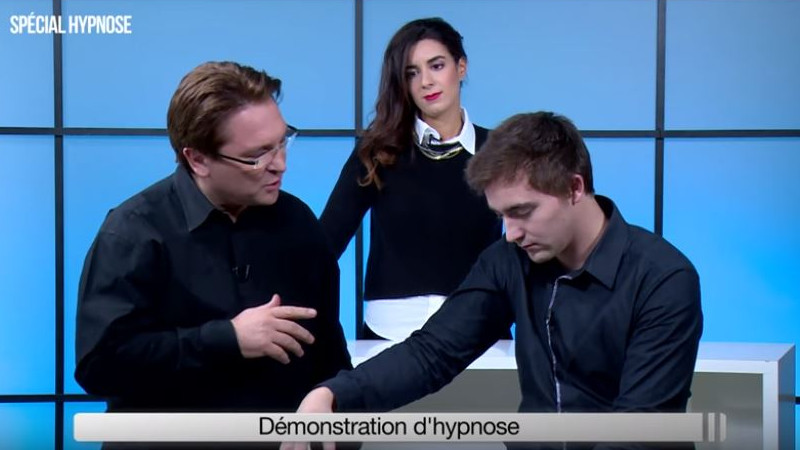 TV : Démonstration Hypnose Ericksonienne