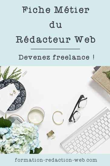 Fiche Métier Rédacteur Web Complète et Détaillée