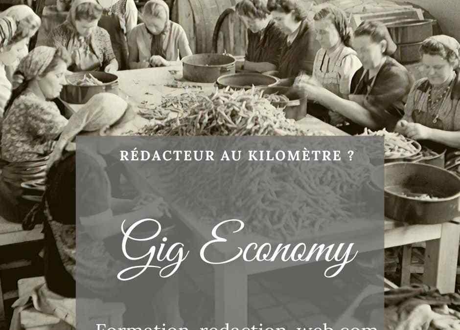 Gig Economy : vivez la Liberté, refusez la Précarité