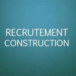 Recrutements dans la construction