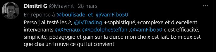 se former en trading