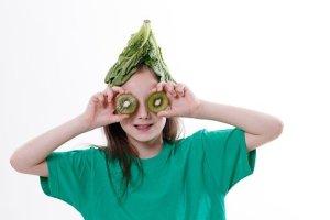 enfant légumes