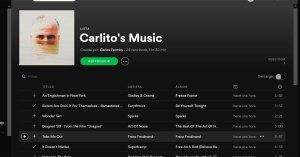 Spotify Pantalla