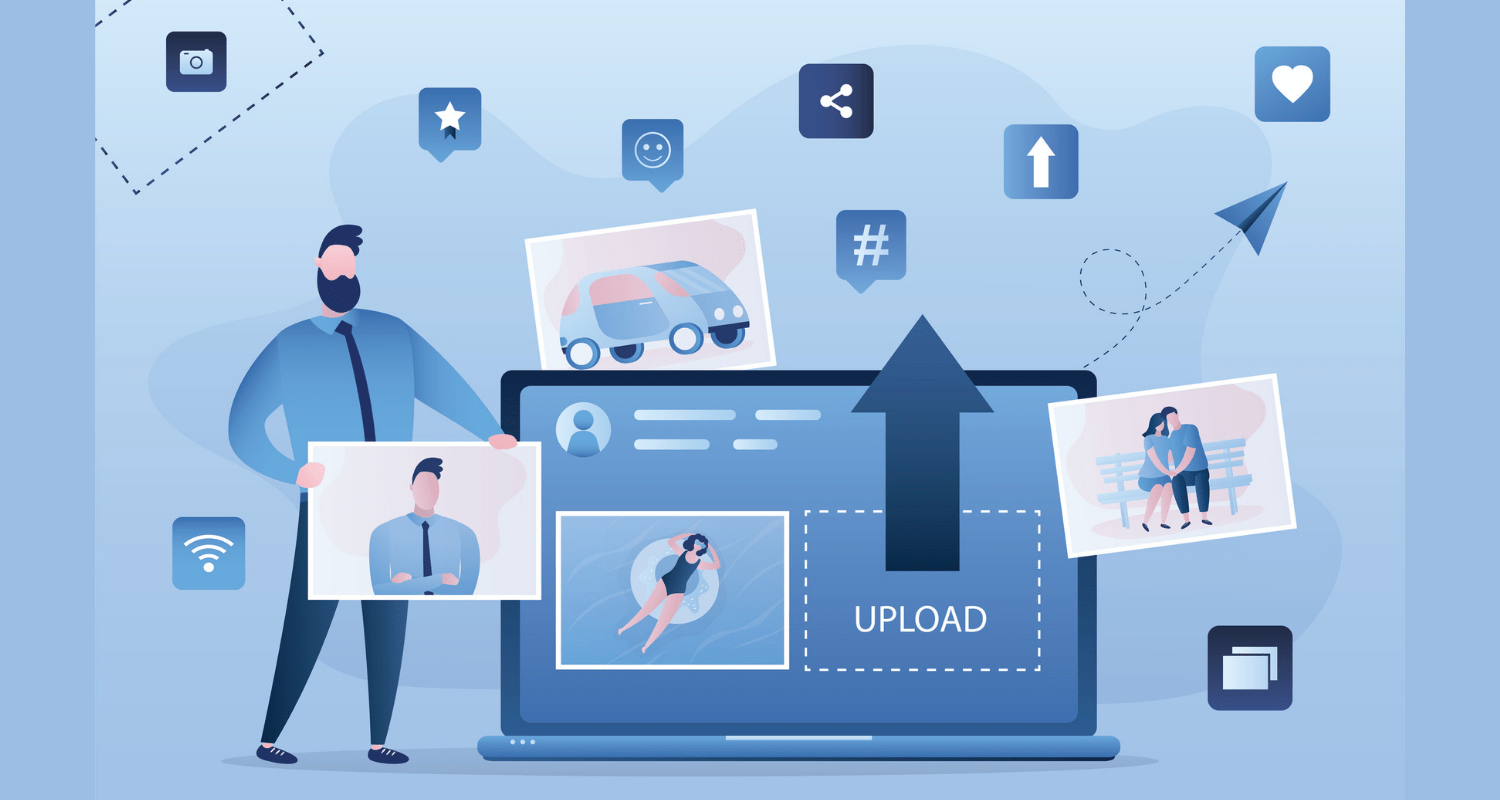 insurance card upload feature