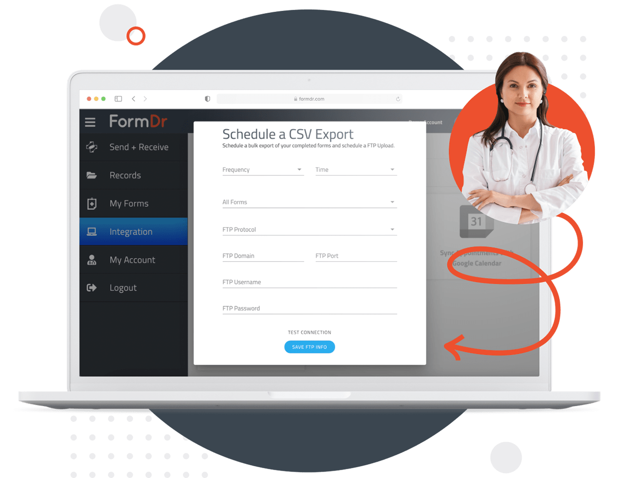 Export HIPAA Compliant Form Submissions to Excel