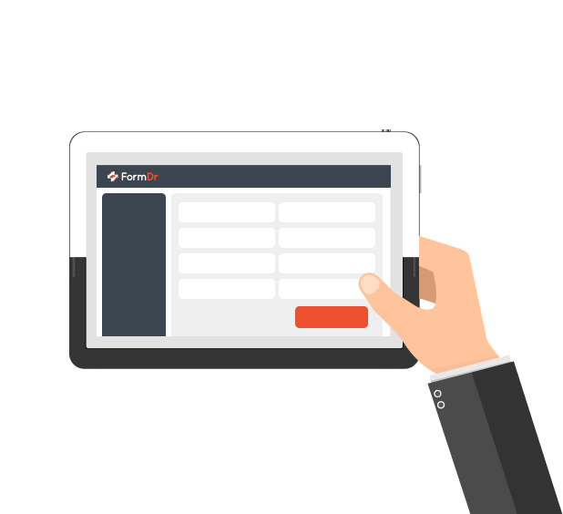 HIPAA Compliant Online Forms on iPad