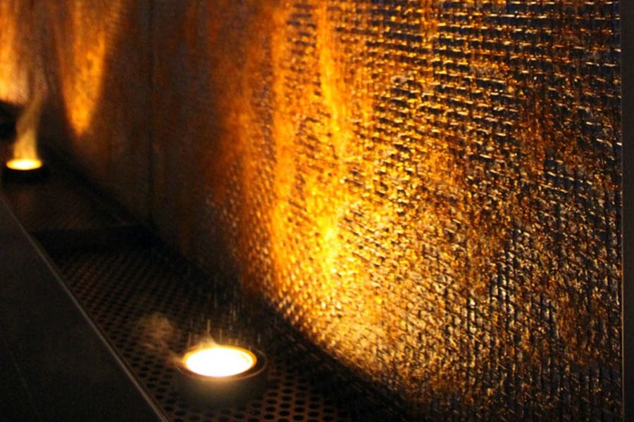 Muro D Acqua Per Interni : Fontane realizzate custom su commissione forme d acqua