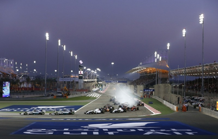 Start Bahrain GP