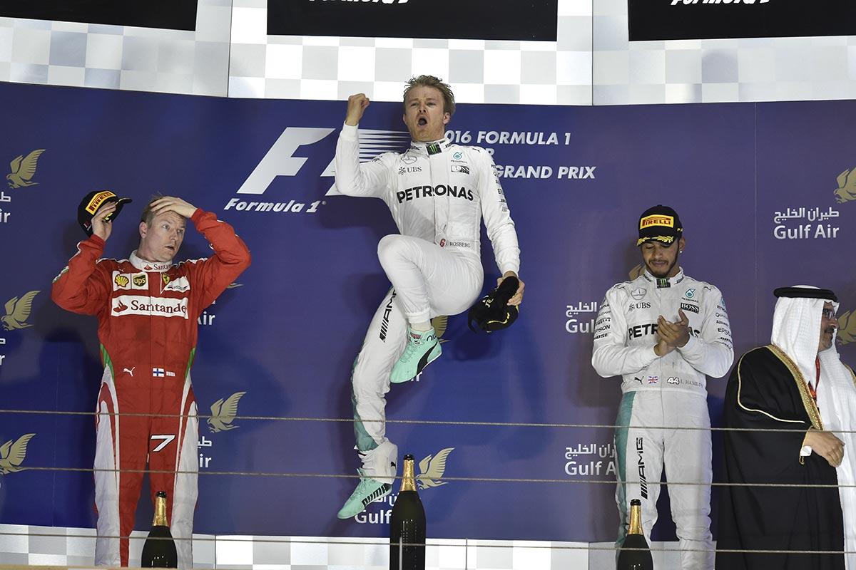 Bahrain GP pall trio