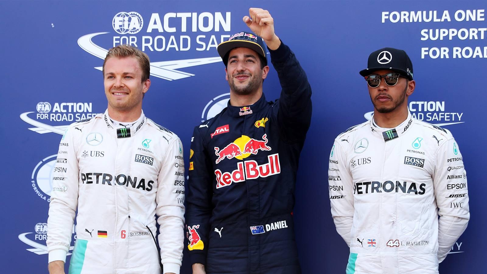 Rosberg - Ricciardo - Hamilton | Monacos GP