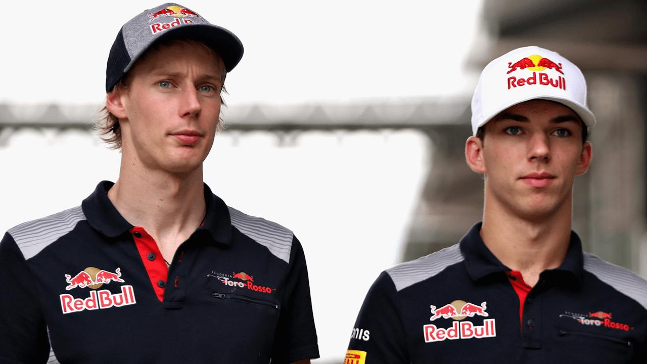 Brendon Hartley & Pierre Gasly Toro Rosso