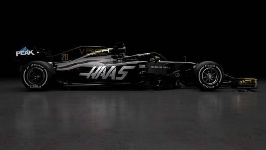 Haas VF19 från isdan