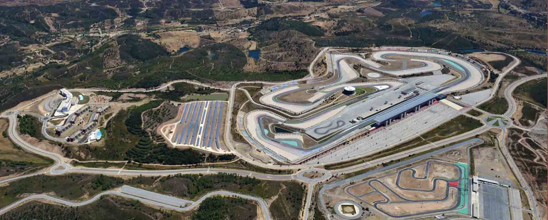 overview of Portimao track