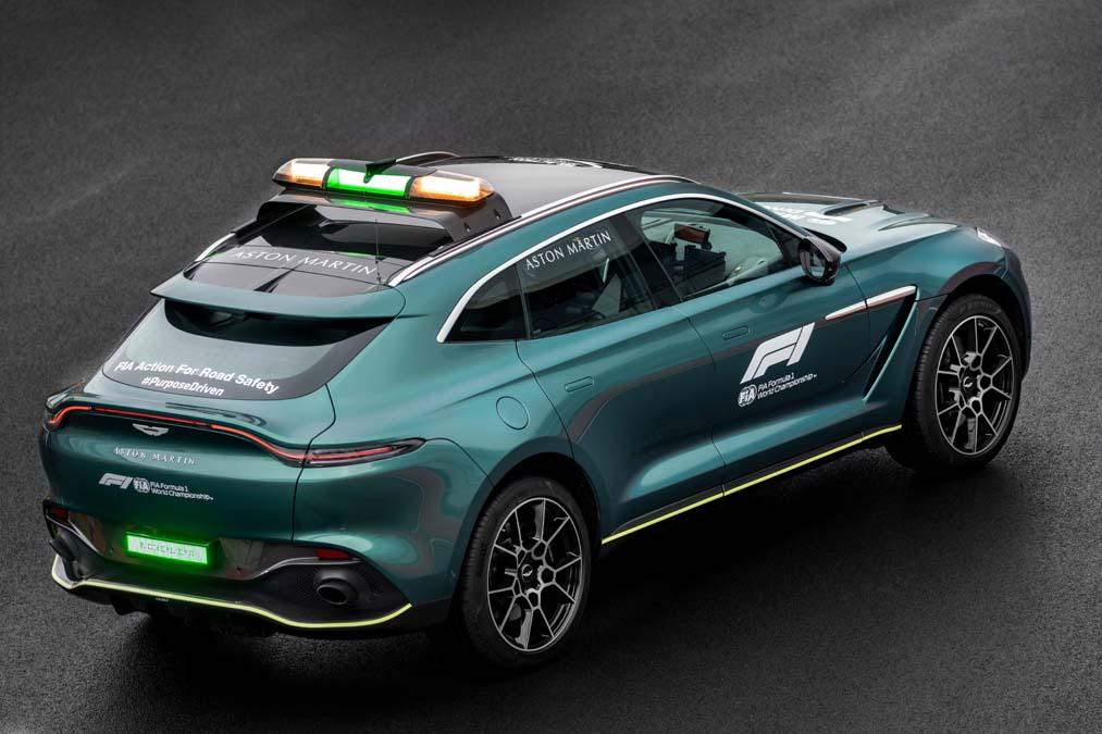 F1 Medical Car - Aston Martin DBX