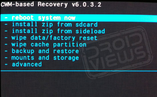 Samsung galaxy s7 mode recovery