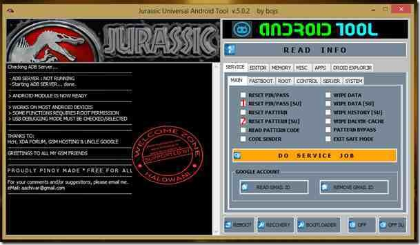 Jurassic UniAndroid