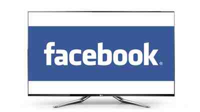 Facebook sur LG Smart Tv