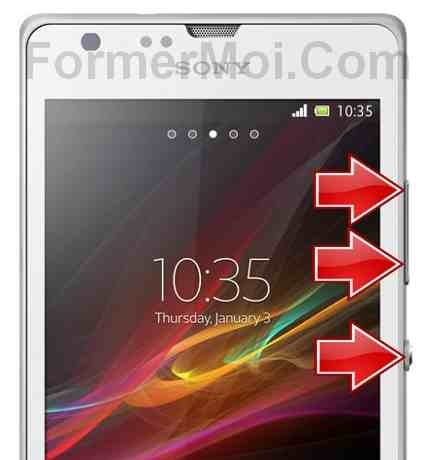 sony xperia sp mode de rcupration