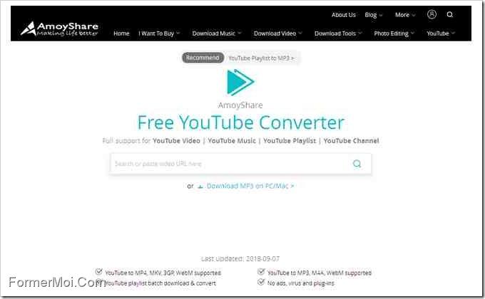 Free YouTube Converter