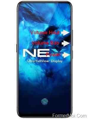 reintialiser vivo nex mobile phone