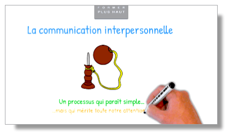 La communication interpersonnelle (le dialogue) : un processus qui paraît simple, mais qui mérite toute notre attention.