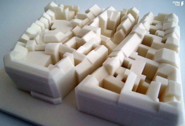 3D Druck Architekturmodell FORMFAB