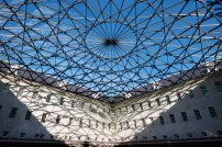 Dutch Maritime Museum courtyard roof by Ney and Partners