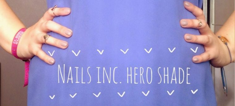 Inspire Magazine Online - UK Fashion, Beauty & Lifestyle blog - Nails Of The Day // Nails Inc. 'Hero Shade'; Inspire Magazine Online; Nails Of The Week; NOTW; Hero Shade; Nails Inc.