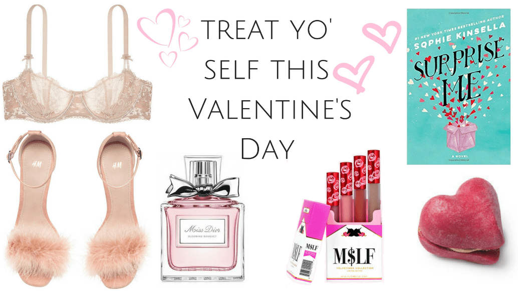 Formidable Joy - UK Lifestyle Blog | Lifestyle | 6 ways to treat yo' self this Valentine's Day | Valentine's Day | Single Pringle | Victoria's Secret | H&M | Lush | Sophie Kinsella | Lime Crime | Treat yo' self
