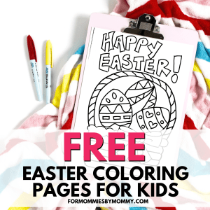 free printable easter coloring pages for kids