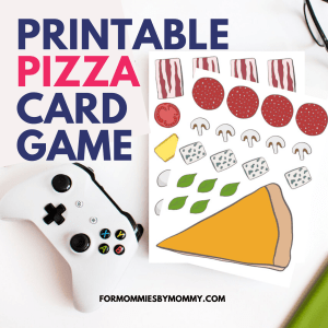Free Pizza Card Game Printables: Fun For The Whole Family!