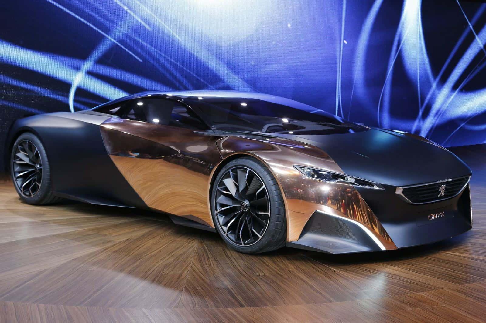 Meet The Designers: Peugeot Onyx Concept