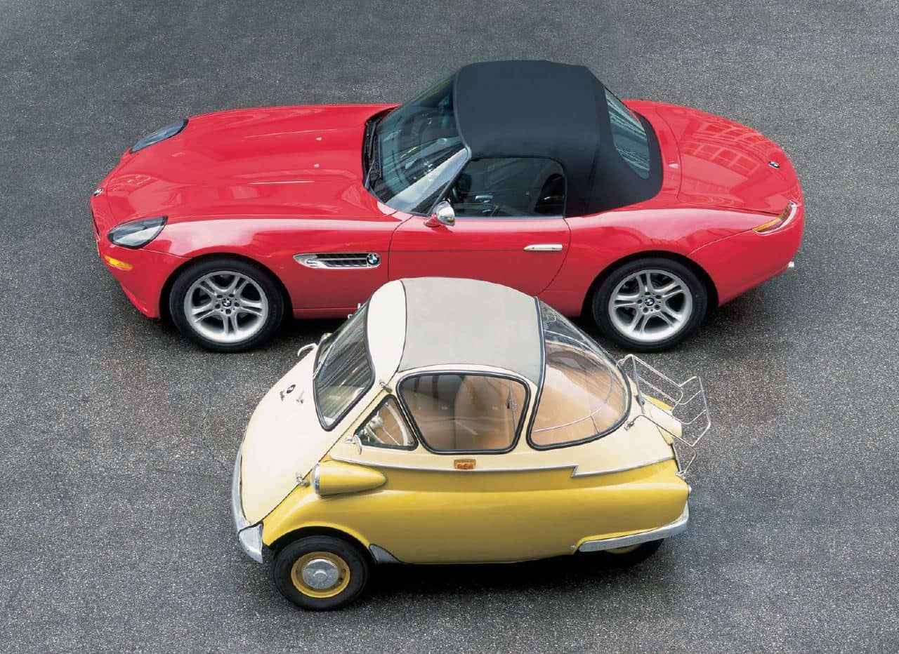 Revisting the BMW Isetta