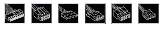Aerocool XPREDATOR Cables