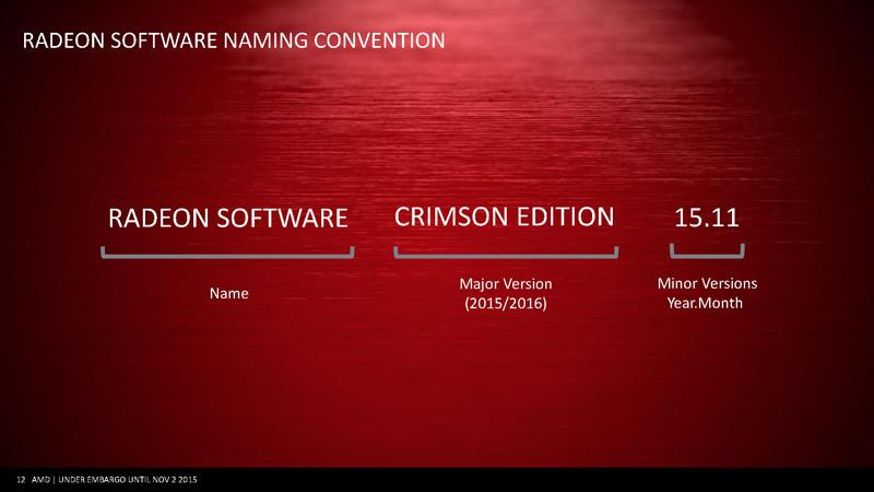 Radeon Software Name Version