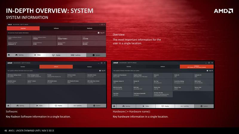 Radeon Software Overview